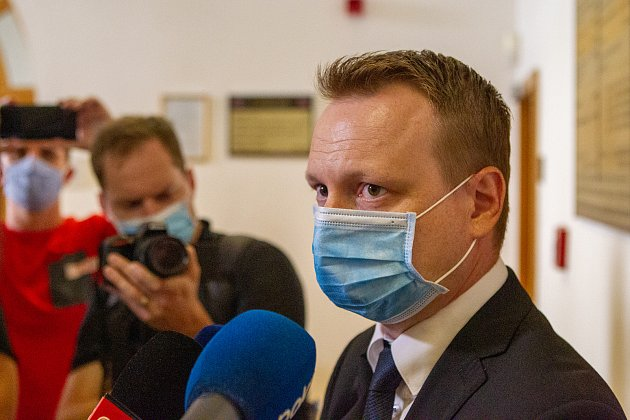 Státní zástupce Michal Król uOkresního soudu vKarviné, který po bohumínské tragédii rozhodoval ouvalení vazby na žháře.