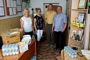 ADRA pomáhá dětem a rodinám v Mukačevu a okolí. Část pomoci pro společnou školu pro obce Bukovinka.a Kučava.
