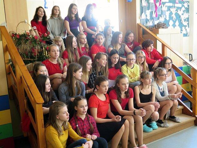 Projektový den Španělsko na Základní škole v Šenově.