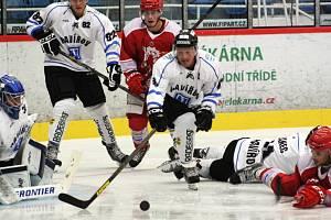 Přípravný zápas hokejistů Havířova a Třince.