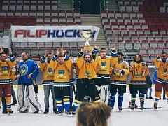 Vítězný tým HC Hrádek zvládl finále bravurně.