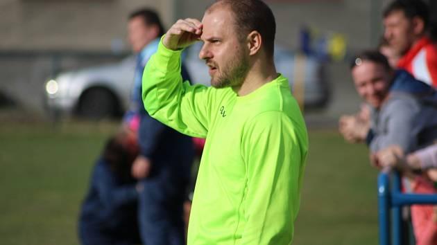 Trenér Bohumína Martin Špička tentokrát marně vyhlížel nějaké ty body.