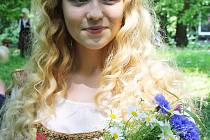 Mladá, sympatická a talentovaná Zuzana Žáková se představí v roli princezny Adélky.