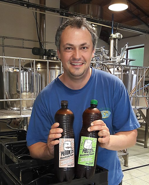 Lukasz Niemiec, spolumajitel Albrechtického pivovaru.