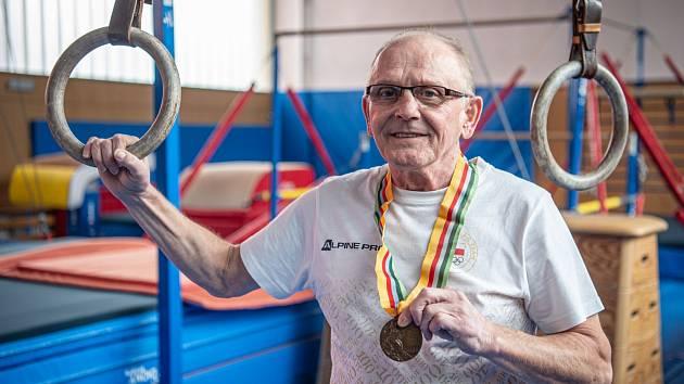 Jiří Tabák, poslední český medailista ve sportovní gymnastice.