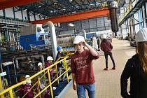 Zájem o prohlídku provozů elektrárny z řad školáků a studentů každoročně stoupá.