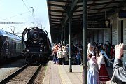 Pondělní oslavy 170 let Severní dráhy císaře Ferdinanda byly v Bohumíně plné historických odkazů.