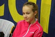 Sharleen Van Coppenolle je velkým talentem orlovského badmintonu.