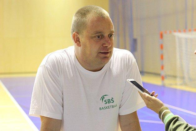 Ladislav Pavlát, trenér havířovského týmu.