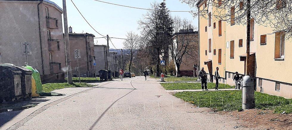 Orlová-Poruba. Problémová oblast, ulice Spojenců.