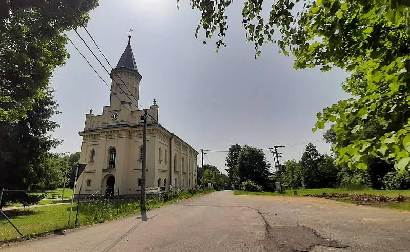 Orlová-Město. . Evangelický kostel