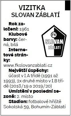 Slovan Záblatí.