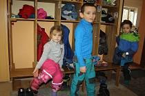 """Děti z karvinské """"lesní školky"""" aneb Klubu PrWosenka."""