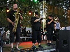 V pátek se konal v parku Adama Sikory v Českém Těšíně hudební festival Rockování nad Olzou.