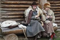 V archeoparku v Chotěbuzi se v neděli natáčely některé scény z historického filmu Cyril a Metoděj – Apoštolové Slovanů.