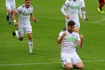 Tomáš Wágner slaví další sezonní gól. Už jich má třináct.