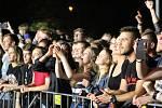 Hlavní hvězdou 10. ročníku festivalu polské rockové hudby Dolański Gróm v Karviné byla kapela Lady Pank.