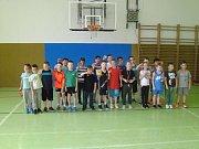 Basketbalové přípravky absolvovaly turnaj v Karviné.