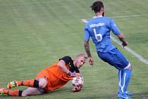 Poslední zápas podzimu zadním řadám Havířova moc nevyšel, zvlášť gólmanu Smětákovi.