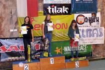 Eliška Adamovská - první v kategorii dívek do 16 let.
