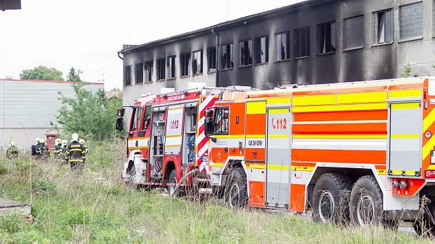 Zásah u úterního požáru v Bohumíně.