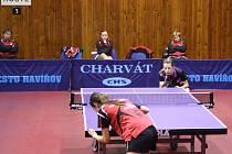 Stolní tenistky Havířova zabraly v pravý čas.
