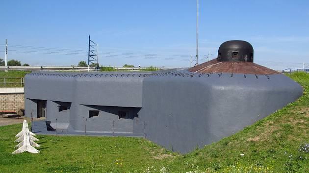 Válečný obranný bunkr Na Trati z roku 1939.