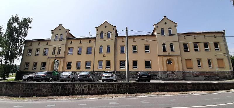 Orlová-Město. Klášter benediktinů.