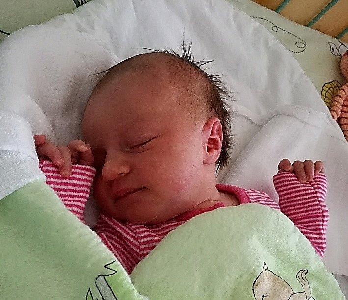 Mamince Vendule Kubicové se v pondělí 27. dubna narodila dcera Vanessa. Po narození vážila 2820 g a měřila 48 cm.