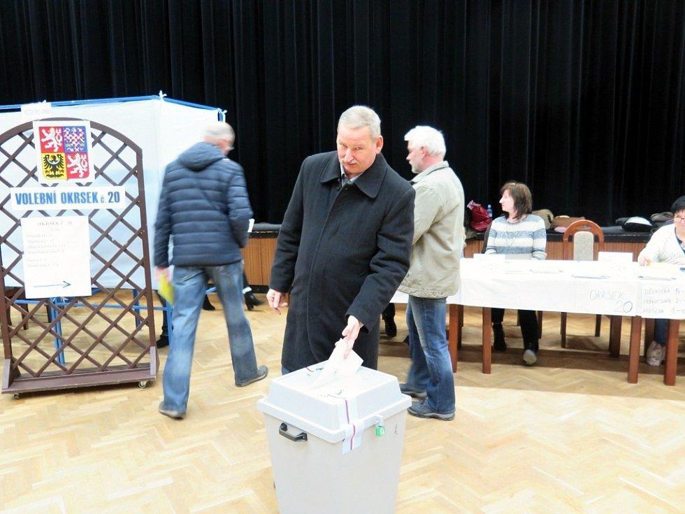 2. kolo prezidentských voleb v Havířově.