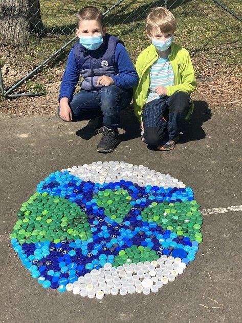 Děti oslavily také Den Země.