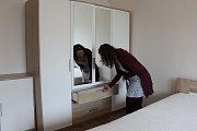 Dospělí chovanci havířovského Dětského domova Sluníčko dostali nové byty.