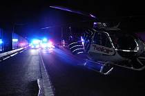 Nehoda na dálnici D1 u Bohumína.