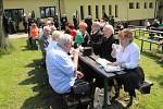 Kroužek krojovaných horníků při obci Stonava v sobotu slavil 105 let existence. Zábava byla dobrá, výborné bylo občerstvení.