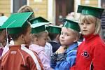 Prvňáky přivítala také karvinská základní škola s polským jazykem vyučovacím.