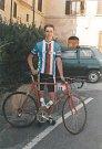 Nejúspěšnější závodník v historii CK Feso Lukáš Pavlech v reprezentačním dresu na juniorském Giro d'Italia (1997).