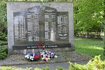 Členové vedení města Havířova ve čtvrtek 7. května dopoledne připomněli 75. výročí konce II. světové války.