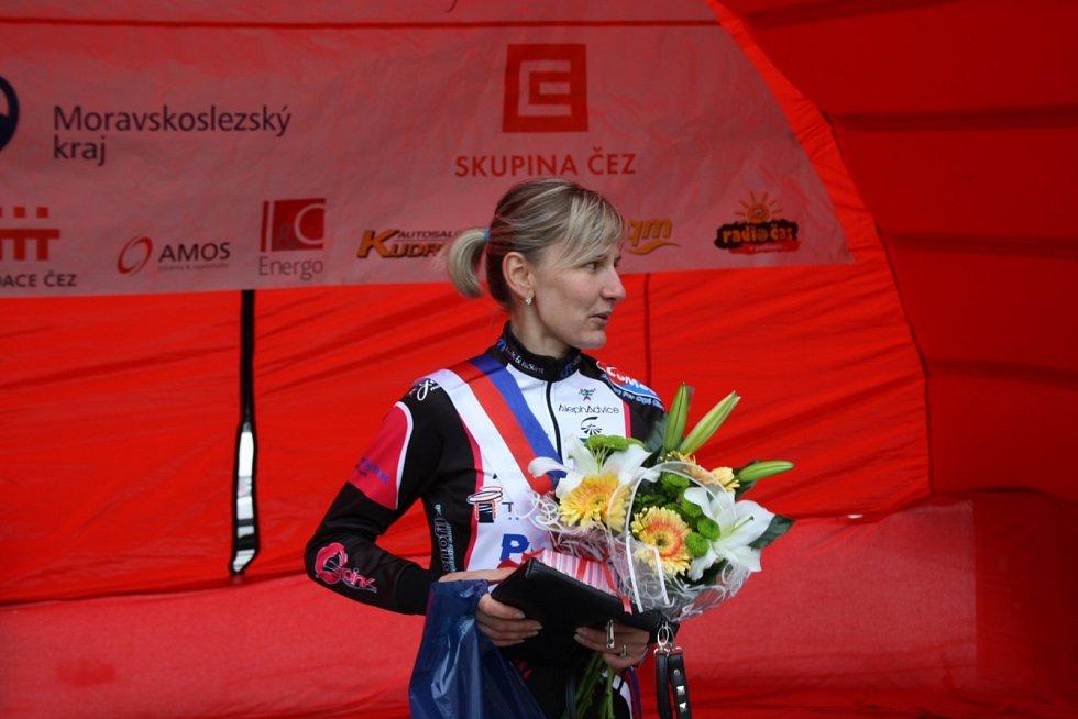 Nejlepší vrchařka i miss Gracie Alena Amjaljusik z Běloruska.