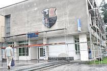 V centru Orlové probíhá rekonstrukce jedné z městských budov.