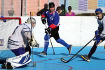 Hokejbalisté prožívají vydařený úvod nového ročníku.