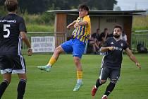 Fotbalisté Dětmarovice získali v 6. kole divize F bod za remízu s Opavou B 1:1.