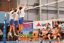 Volejbalisté Havířova se dočkali první výhry v roce 2014.