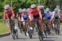 Cyklistky měly dnes na programu druhou etapu.
