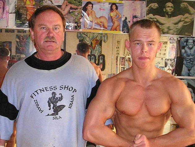 Osmnáctiletý Patrik Jablonski (vpravo) by se mohl pod vedením Wieslawa Ciahotného brzy dočkat velkých úspěchů.