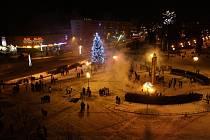 Havířovské novoroční veselí v centru města.