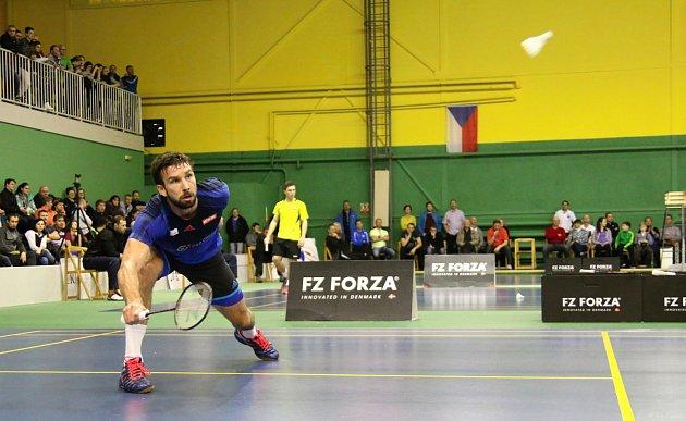 Karviná je na přehlídku špičkových badmintonistů zvyklá. Vminulosti se zde představil třeba Petr Koukal.