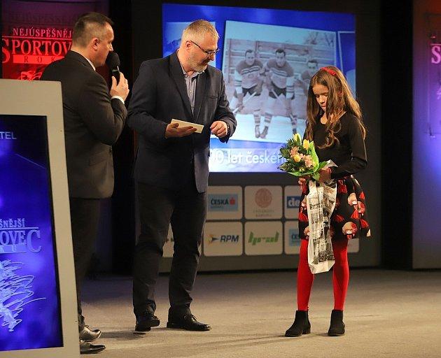 Sportovní hvězdou čtenářů Deníku se stala mažoretka Eliška Fojtíková.
