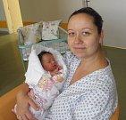 Mamince Zuzaně Cílkové z Karviné se 6. září narodila dcerka Adélka. Po narození holčička vážila 3750 g a měřila 51cm.