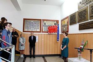 Připomínka 17. listopadu 1989 na gymnáziu v Českém Těšíně