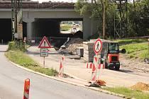 Rekonstrukce podjezdu pod železniční stanicí v Havířově.